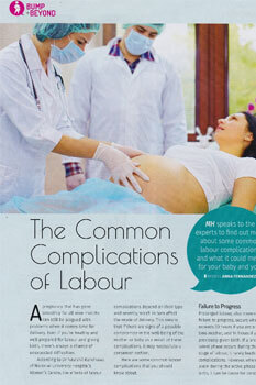 The Common Complications of Labour June 2018